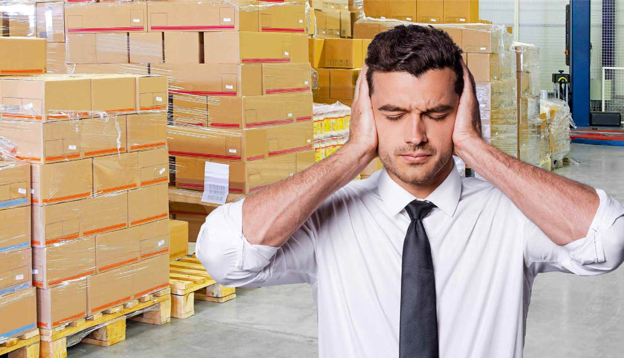 Pressure on warehouse manager