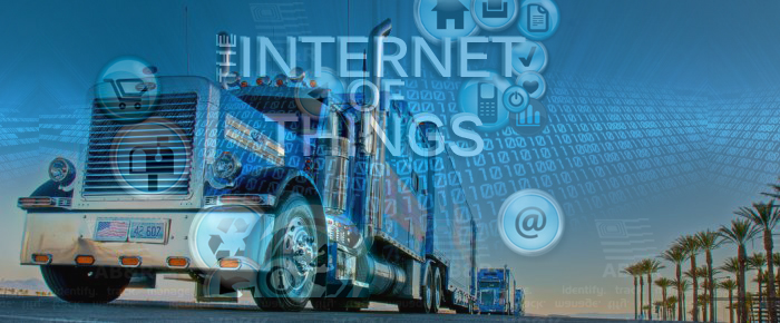 Truck with Internet of Things (IoT)