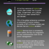 This graphic shows the benefits of using Android on rugged mobile computers.