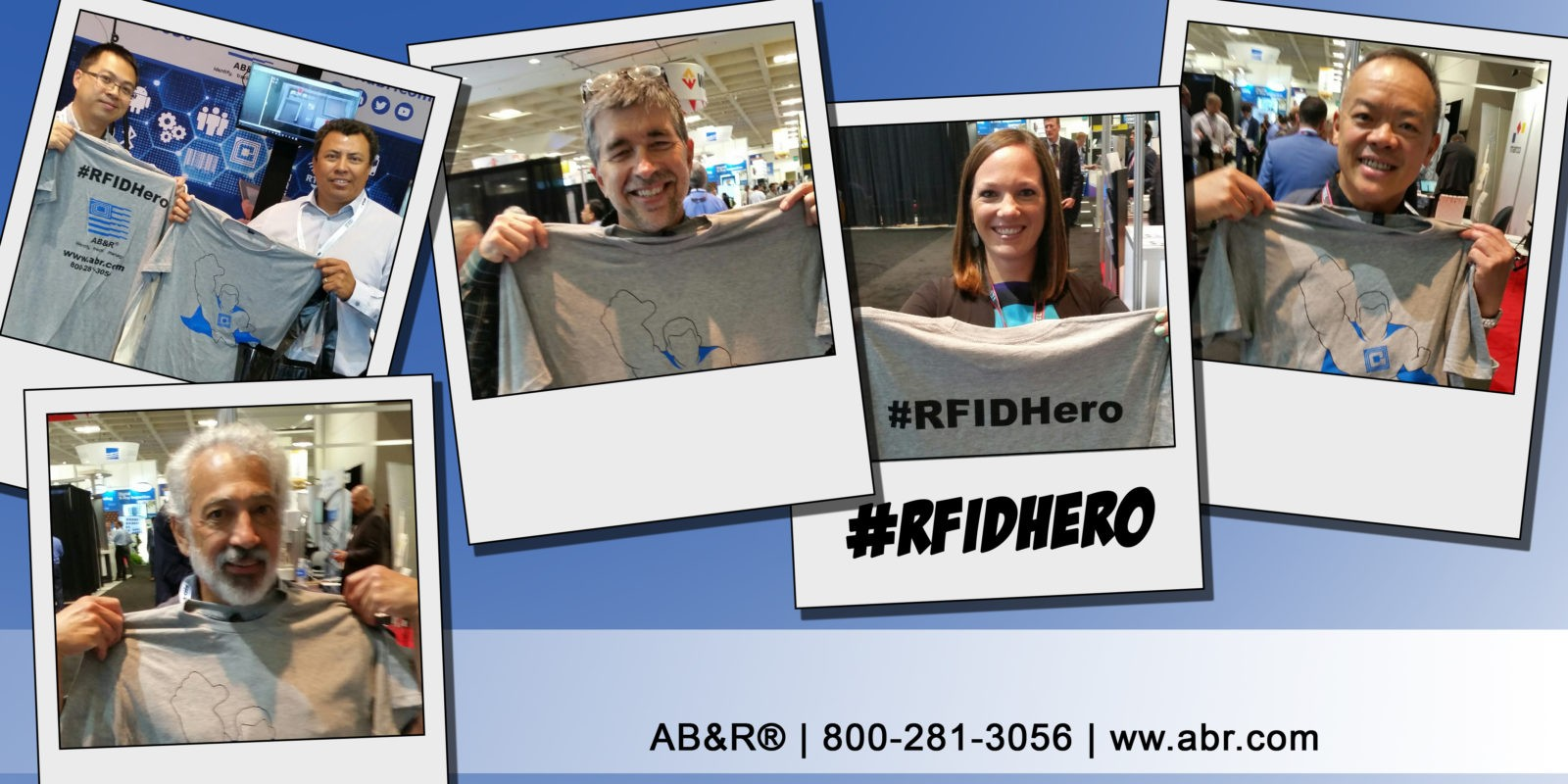 RFID Hero: Real Faces